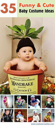 Funny & Cute DIY Baby Costume Ideas