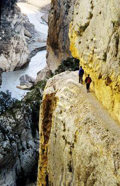 Pallars Jussà: Congost de Montrebei, Serra del Montsec  Lleida   Catalonia