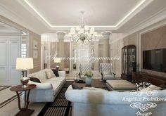 Дизайн-проект квартиры в английском стиле в Клубном доме на Чайковского - фото