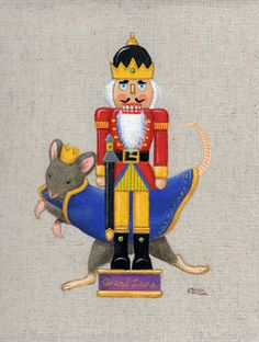 Nutcracker and King of mouse -comapict blog