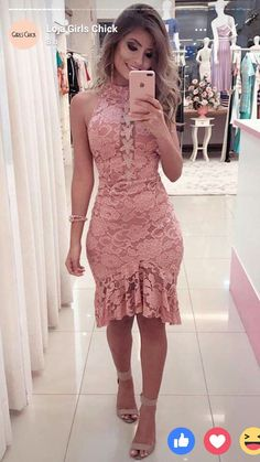 Vestido casamento Lace Dress Styles, African Lace Dresses, Latest African Fashion Dresses, Vintage Style Dresses, Prom Dresses With Sleeves, Cute Dresses, Short Dresses, Western Dresses, Classy Outfits