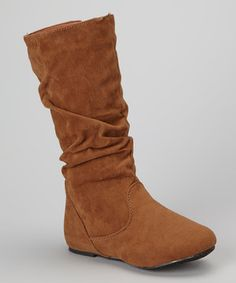 Look what I found on #zulily! Ositos Shoes Tan Delta Boot by Ositos Shoes #zulilyfinds