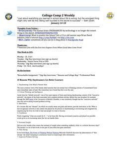 Final Weekly syllabus (page 1)