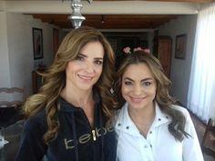 """""""Siblings Day Look"""" - Jimena por Gaby Alva y su hermana por Isaac Lira. Ambas es un Hair and Makeup AM."""