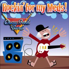 """Listen and vote for Chevy Ford Band at the Open Mic Contest! Song: """"rockin' for my meds"""""""