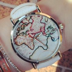 Map Watch and bracelets