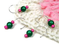 Snagless #Crochet Stitch Markers Set Removable