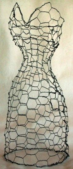 how to make wire mannequin - Google Search