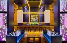 The vibrant Wine Bar is perfect for your cocktail hour or reception! | Andaz San Diego