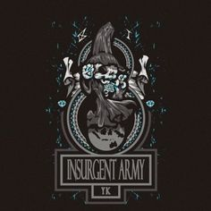 """My design for insurgent army 91 yk """"Let the right one in"""""""