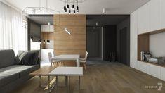 Projekt wnętrz mieszkania w Krakowie. Architekt: T3 Atelier | Karolina Mizińska