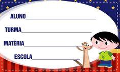 Etiqueta Escolar Personalizadas Show da Luna 4
