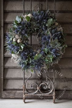 www.artdelafleur7.nl Easter wreath