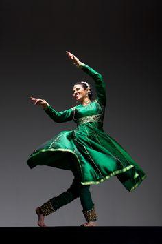 Celebrations around the world:  Kathak dancer - India