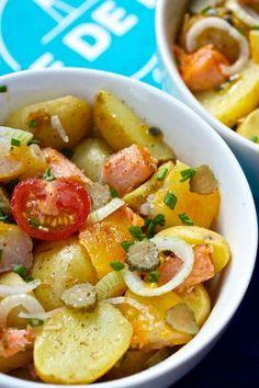 Belle et simple salade printanière, à déguster avec un #PinotBlanc d'Alsace !