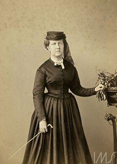 Brasiliana Fotográfica - Joaquim Insley Pacheco. Princesa Isabel, c. 1870. Rio de Janeiro / Acervo IMS