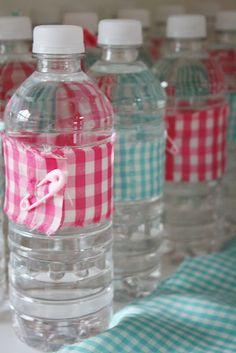 botellas coquetas...