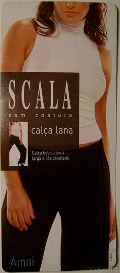 Scala White Calca Lana Pants Wide Leg Casual Yoga Lounge Exercise Seamless
