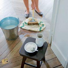 Ménage naturel : comment nettoyer son parquet de manière écolo ? - Marie claire Idées