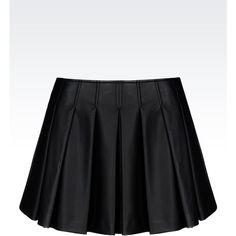 Armani Jeans Mini Skirt ($245) ❤ liked on Polyvore featuring skirts, mini skirts, bottoms, black, black zipper skirt, black miniskirt, armani jeans, black mini skirt and short skirts