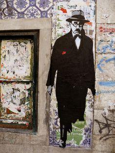 Street Art Fernando Pessoa