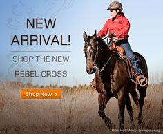 Check out the new Rebel Cross Western #helmet $64.95 http://www.troxelhelmets.com/products/rebel