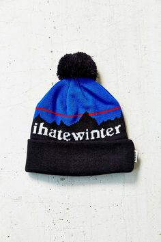 I Hate Winter hat http://bit.ly/1zAkX5T