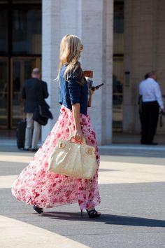 New York fashion week.