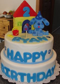 fuck that im 18 and want this cake Blues Clues