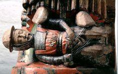 Item Sculpture Holding Institution Swedish Historical Museum From Kullerstads Kyrka, Norrköping, Schweden Dating 1250