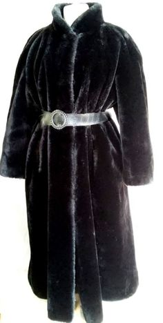 #tumbrl#instagram#avito#ebay#yandex#facebook #whatsapp#google#fashion#icq#skype#dailymail#avito.ru#nytimes #i_love_ny     Couture Helene Belgian faux Mouton fur coat Black long   size XXL #CoutureHelene #BasicCoat
