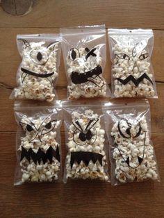 Leuke popcorn monster tractatie