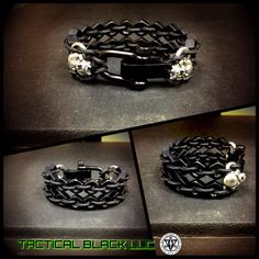 Adjustable fang double hexnut paracord by TacticalBlackRDS on Etsy