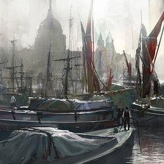 Fantasy Character Design, Assassins Creed, Fantasy Characters, Kobe, Artwork, Painting, Work Of Art, Auguste Rodin Artwork, Painting Art