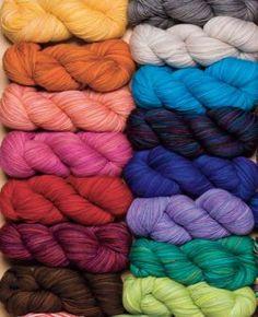 Stroll Tonal Sock Yarn - 75% Superwash Merino Wool, 25% Nylon Fingering Knitting Yarn, Crochet Yarn and Roving