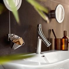 This bathroom collection from the well-known designer Philippe Starck combines a unique design with a particularly sensual water experience - and all with low water consumption. Explore more EcoSmart Products: http://www.hansgrohe.de/19729.htm?fsid=0x00007B81&of=8