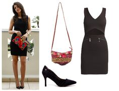 Copia el look de Silvia Navarro, blogger de #1sillaparamibolso. Vestido con abertura de Erikch, bolso étnico de @alibeyaccesorio y zapatos @chika10footwear.