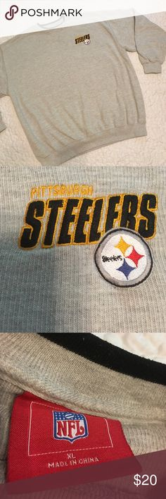 Steelers  Sweatshirt Size XL x great condition x NFL tag x no rips or stains Steelers Shirts Sweatshirts & Hoodies