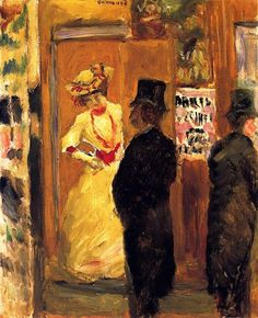 After the Theater / Pierre Bonnard - 1902