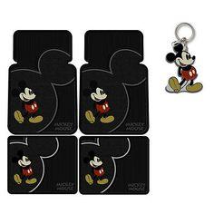 Mickey Mouse Car, Walt Disney Mickey Mouse, Disney Cars, Rubber Floor Mats, Rubber Flooring, Disney Car Accessories, Disney Kitchen Decor, Apple Watch Fashion, Car Mats