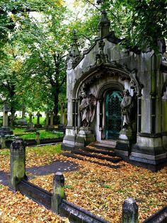 Cementerio en Brompton.Londres.