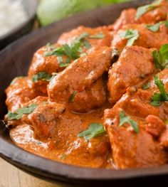 Chicken Makhani or Indian Butter Chicken recipe Crock Pot Recipes, Easy Chicken Recipes, Slow Cooker Recipes, Low Carb Recipes, Cooking Recipes, Healthy Recipes, Curry Recipes, Chicken Ideas, Slimming Recipes