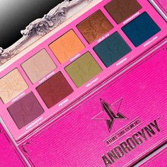 "Experience Jeffree Star's idea of a ""neutral"" palette with 10 extremely pigmented, jaw-dropping shades in metallic and super-matte finishes."