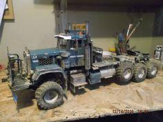 Oil Field Truck Model.