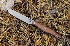Exodus 4 - White River Collaboration - Natural Micarta – White River Knives Belt Knife, Kydex Sheath, Bushcraft Knives, Survival Knife, Kitchen Knives, Collaboration, River, Natural, Kydex Holster