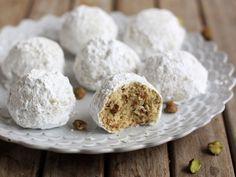 Pistachio Snowball Cookies Recipe on Yummly