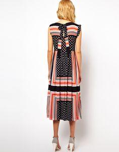 Asos scarf print dress