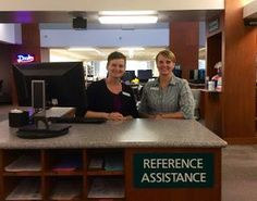 People and services moved, too. Librarian Margie Ruppel is now in office 107A, and reference for the Curriculum Resource Center is provided at our main desk on the first floor