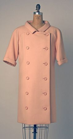 Coatdress André Courrèges  (French, born 1923) Date: 1965 Culture: French Medium: wool