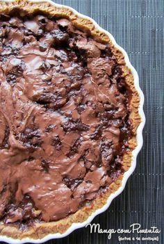 Torta de Banana com Chocolate {Receita de Ano Novo                                                                                                                                                      Mais